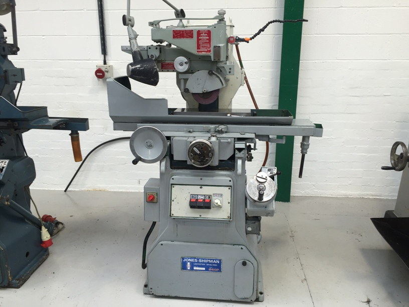 Used JONES & SHIPMAN 540P Hydraulic Surface Grinder