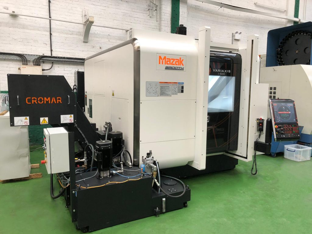 28836 MAZAK Variaxis i500 5 Axis Vertical Machining Centre with Mazatrol Smooth X Control. Year 2017 - 2